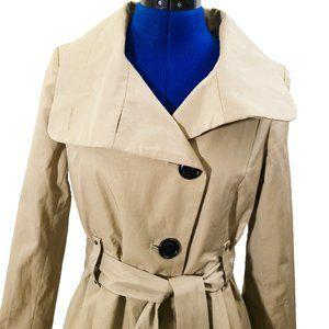 Steve Madden Dress Style Trench Coat Size S